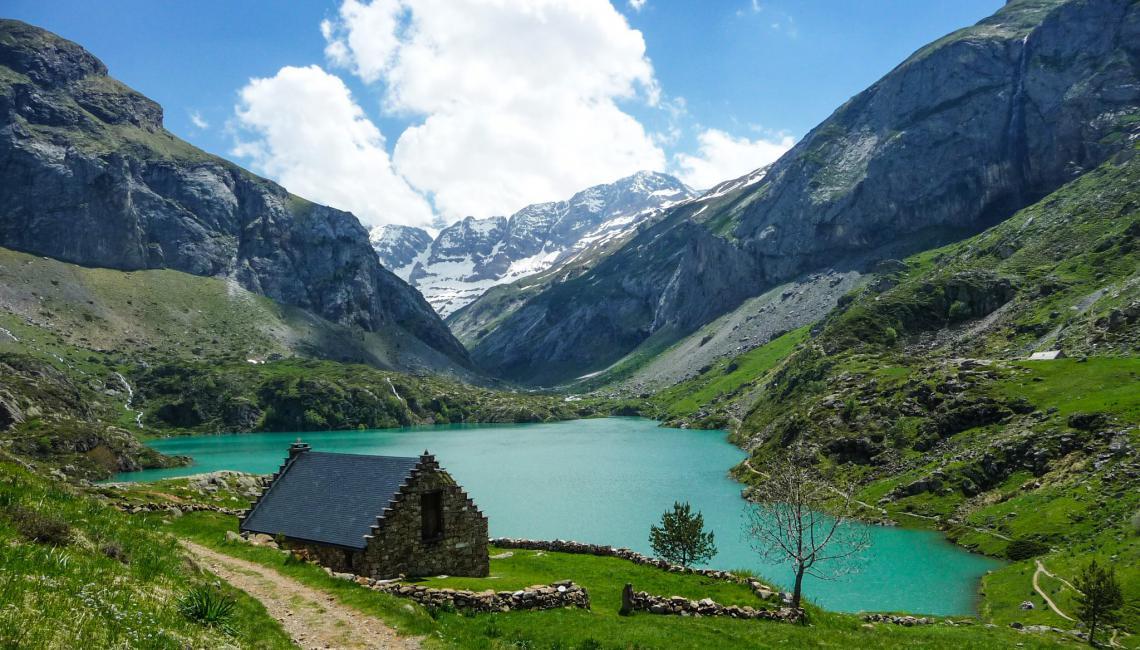 Lago pirineo