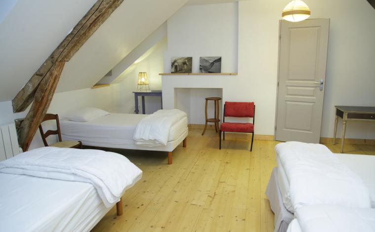 Dormitorio del segundo piso